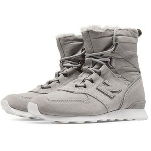 df8443a7ff743 New Balance Shoes - New Balance 510 Women's Sneaker Boots Grey Suede